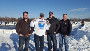 Becker Arena Products at the 2018 U.S. Pond Hockey Championships