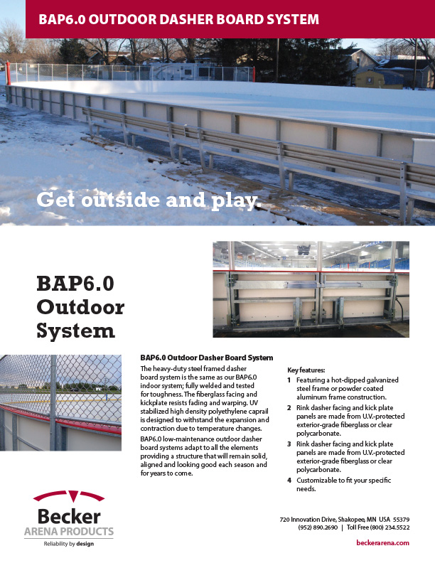 BAP6.0 Series Outdoor Dasher Board System