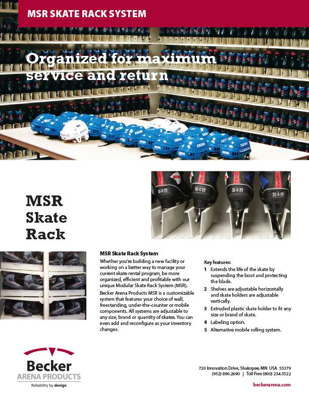 MSR Skate Rack System